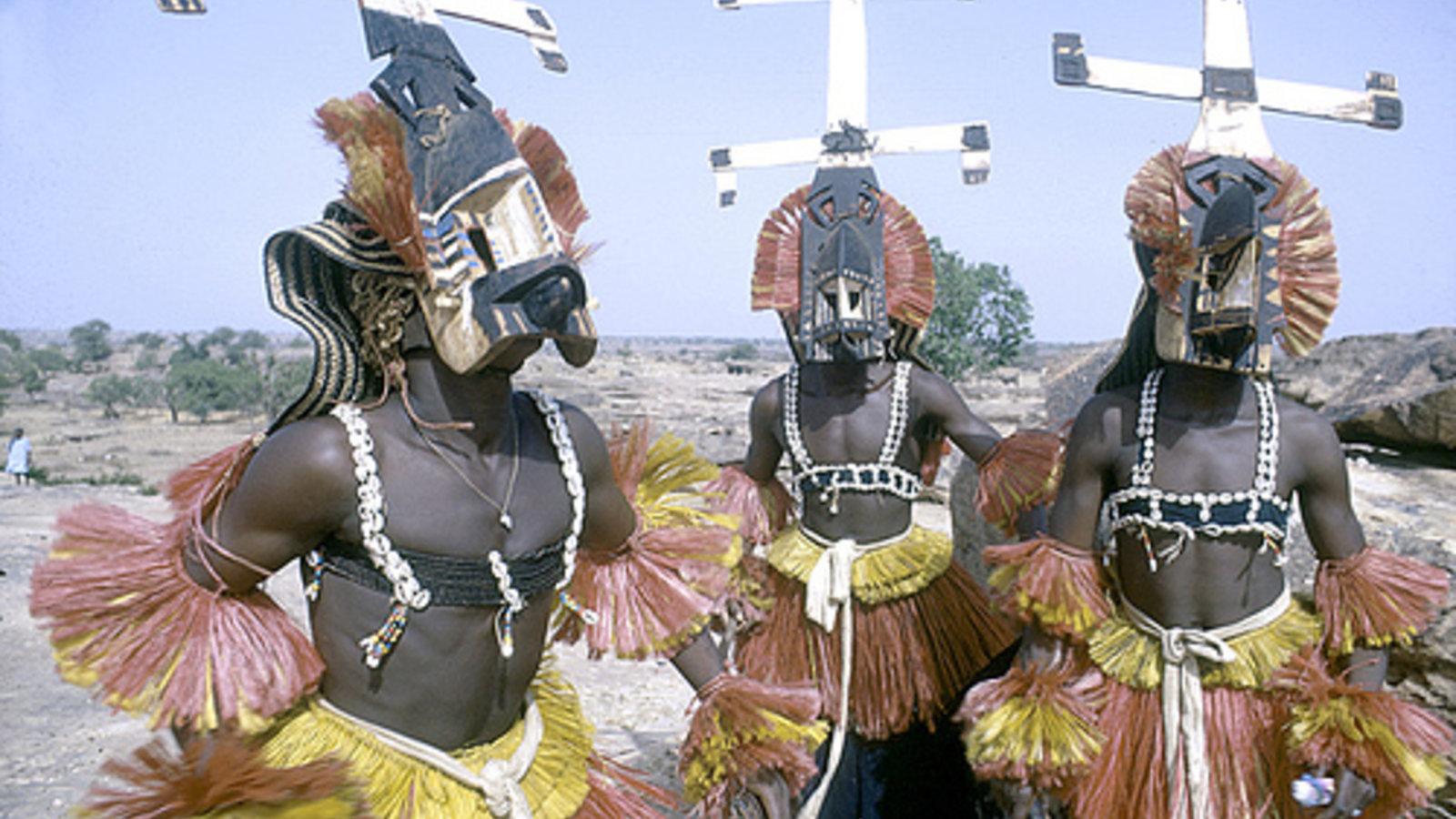 African Carving: A Dogon Kanaga Mask