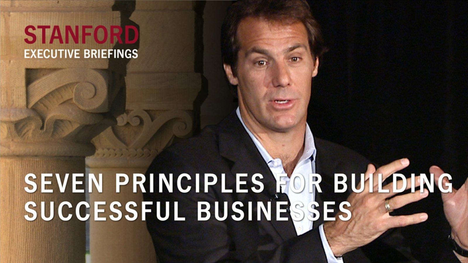 Seven Principles for Building Successful Businesses - With David DeWalt