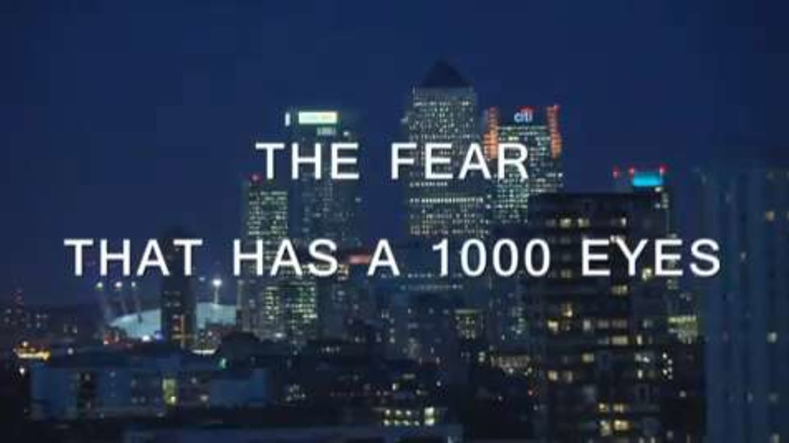 The Fear That Has 1000 Eyes - Cities in the Age of Terrorism
