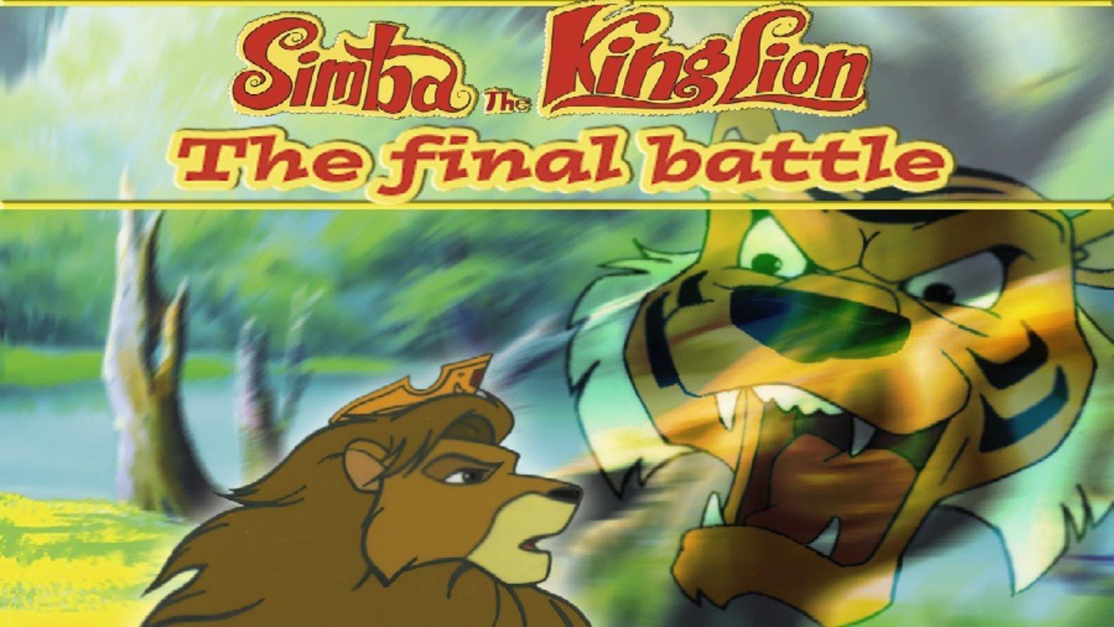 Simba, The King Lion