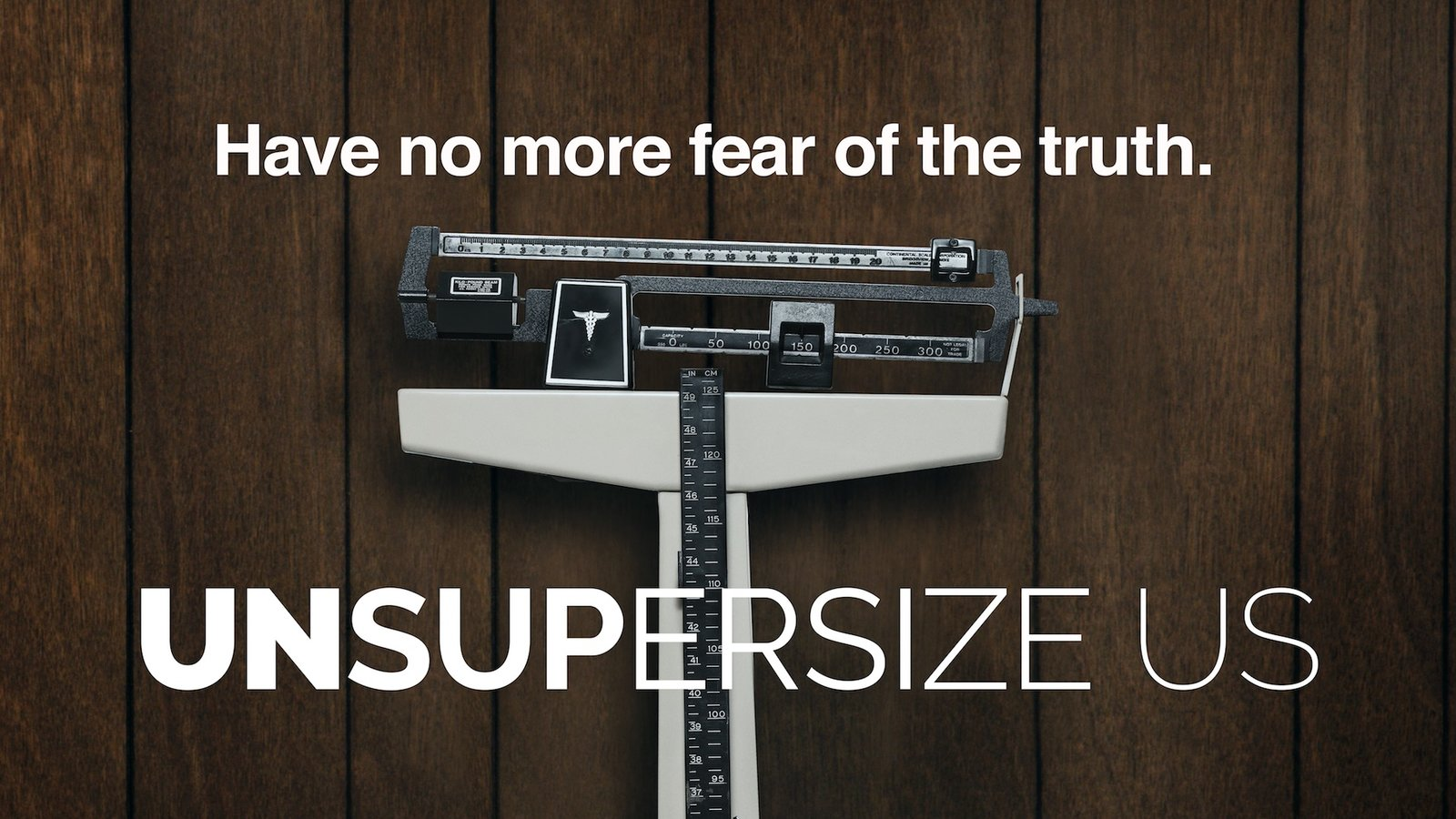 Unsupersize Us - Achieving a Healthier Lifestyle