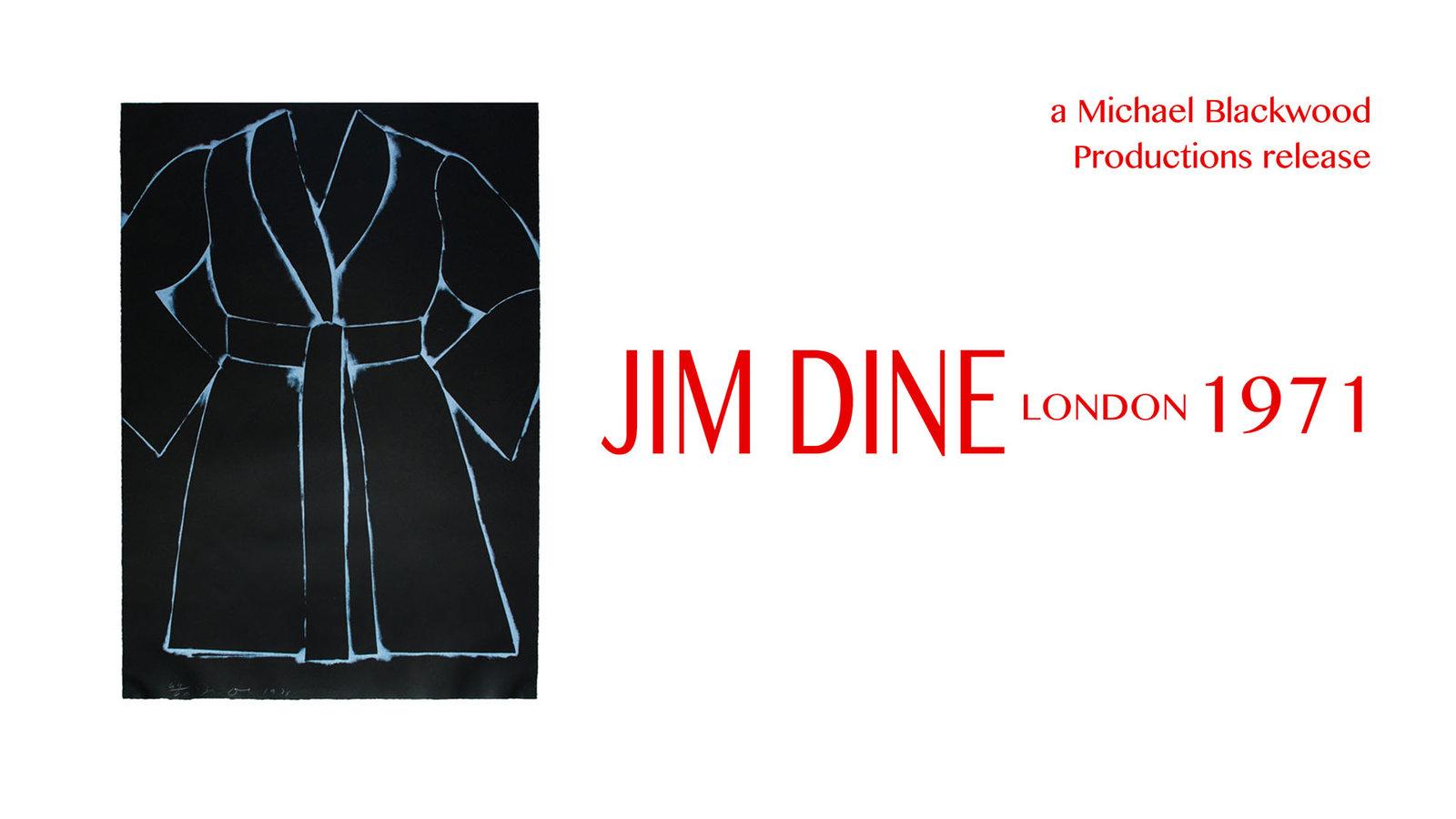 Jim Dine - A Conversation with the Pop Artist
