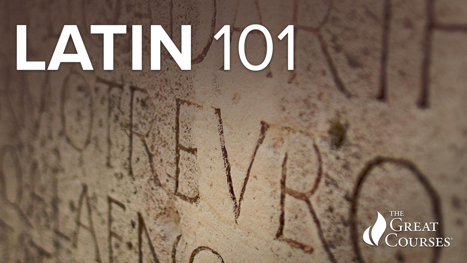 Latin 101 - Learning a Classical Language