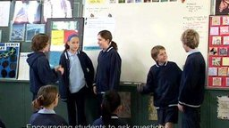 Encouraging Students to ask Questions (Classroom Footage)