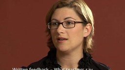 Written Feedback: What Teachers Say (Primary)