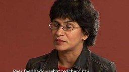 Peer Feedback: What Teachers Say (Secondary)