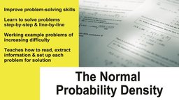 Normal Probability Density