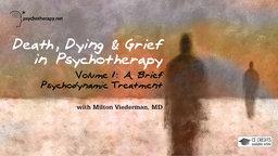 A Brief Psychodynamic Treatment - With Milton Viederman
