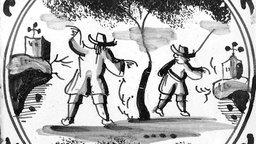 1676—Van Leeuwenhoek's Microscope