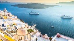 Santorini, Akrotiri, and the Atlantis Myth