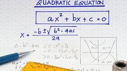 Quadratic Equations - The Quadratic Formula
