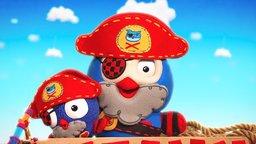 Pirate Mini-Hootbeard's Mini-Treasure Hunt