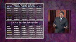 The Present Passive of All Conjugations