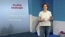 Proofing Behavior across Contexts