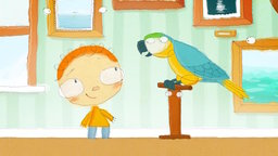 The Day Henry Met... A Parrot